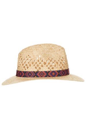 Topshop straw aztec band hat, via
