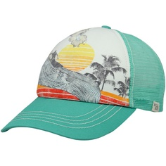 Printed summer hat, via