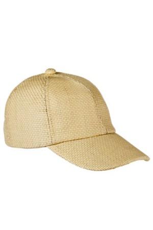 Xhilaration straw baseball hat, via